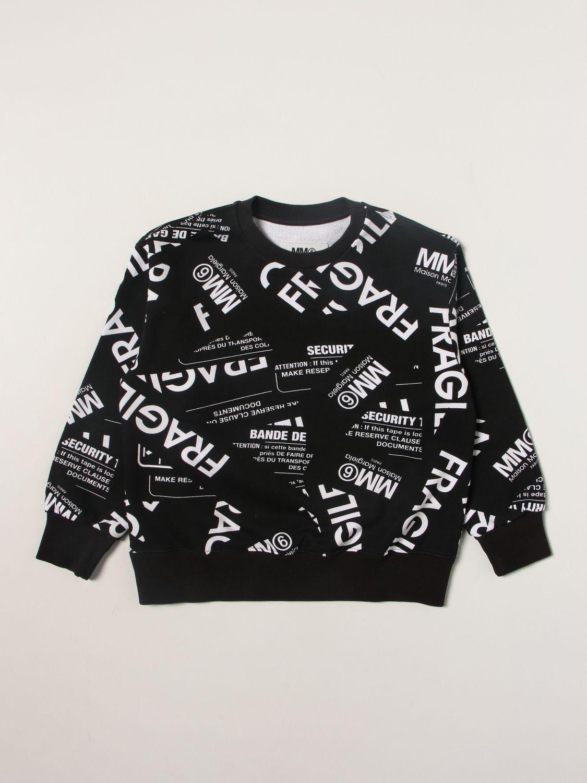 Sweater Mm6 Maison Margiela: Sweater kids Mm6 Maison Margiela black 1