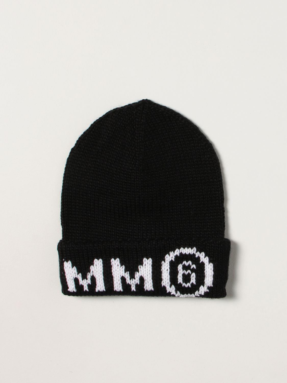 Chapeau Mm6 Maison Margiela: Chapeau enfant Mm6 Maison Margiela noir 1