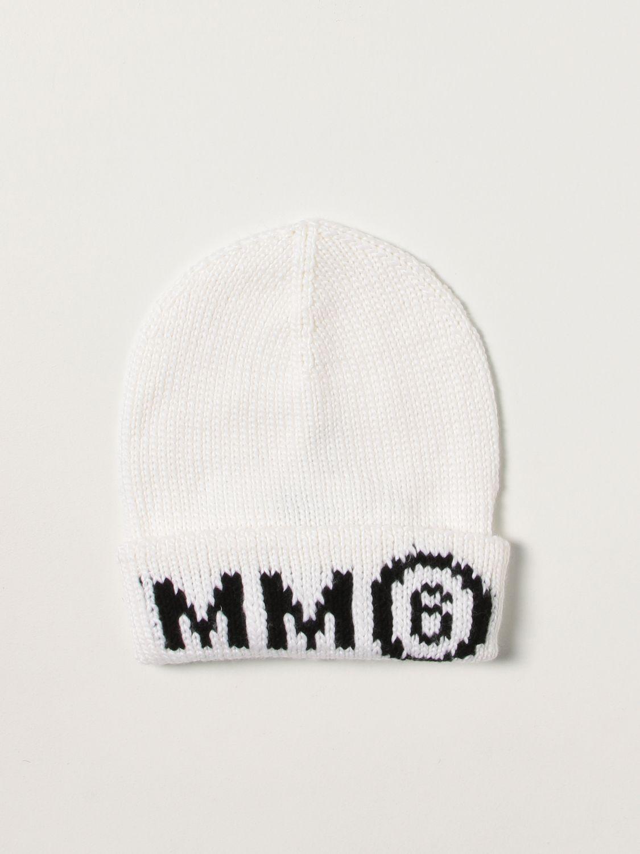 Chapeau Mm6 Maison Margiela: Chapeau enfant Mm6 Maison Margiela blanc 1