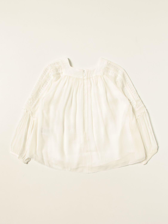 Chemise Chloé: Chemise enfant ChloÉ blanc 2