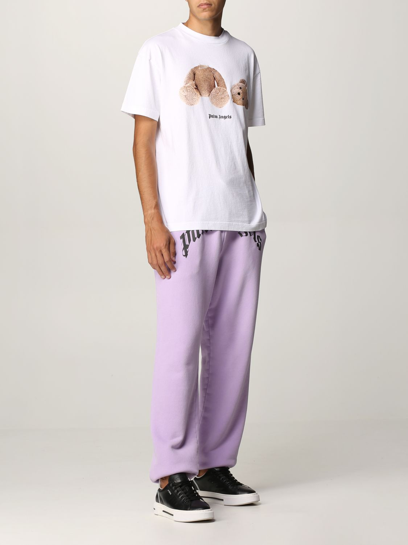 T-shirt Palm Angels: T-shirt uomo Palm Angels bianco 2