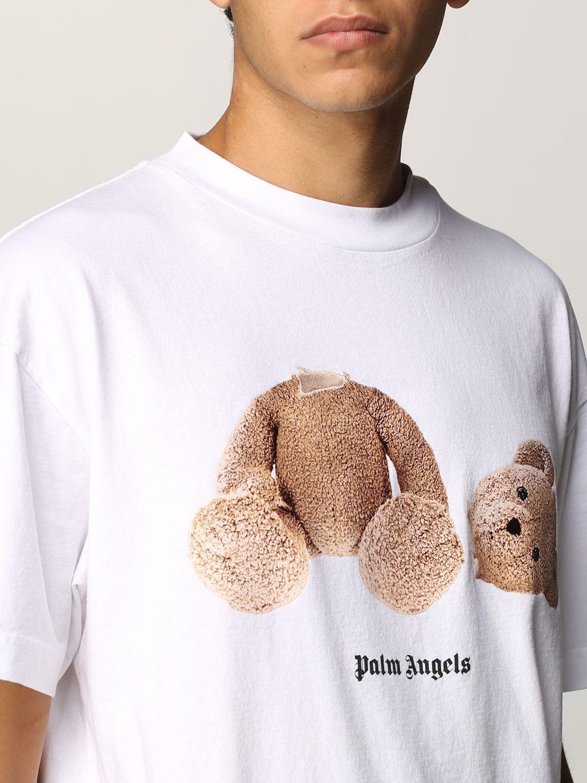 T-shirt Palm Angels: T-shirt uomo Palm Angels bianco 5