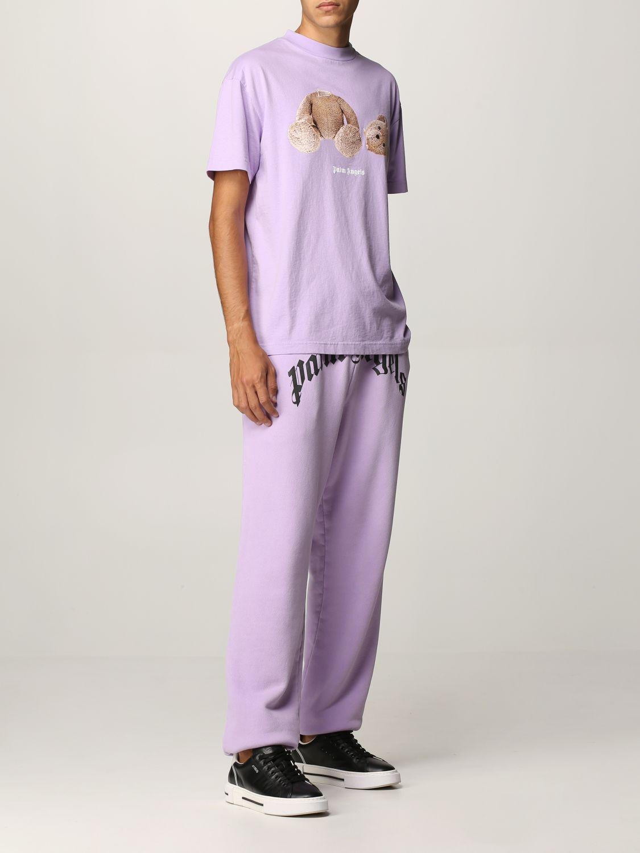 T-shirt Palm Angels: T-shirt uomo Palm Angels lilla 2
