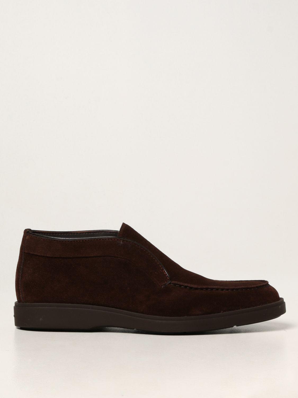 Zapatos Santoni: Zapatos hombre Santoni marrón 1
