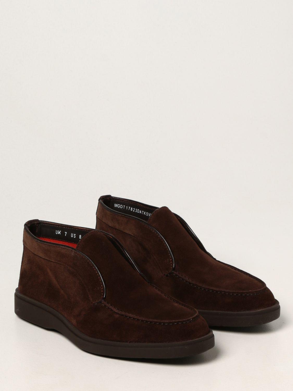Zapatos Santoni: Zapatos hombre Santoni marrón 2