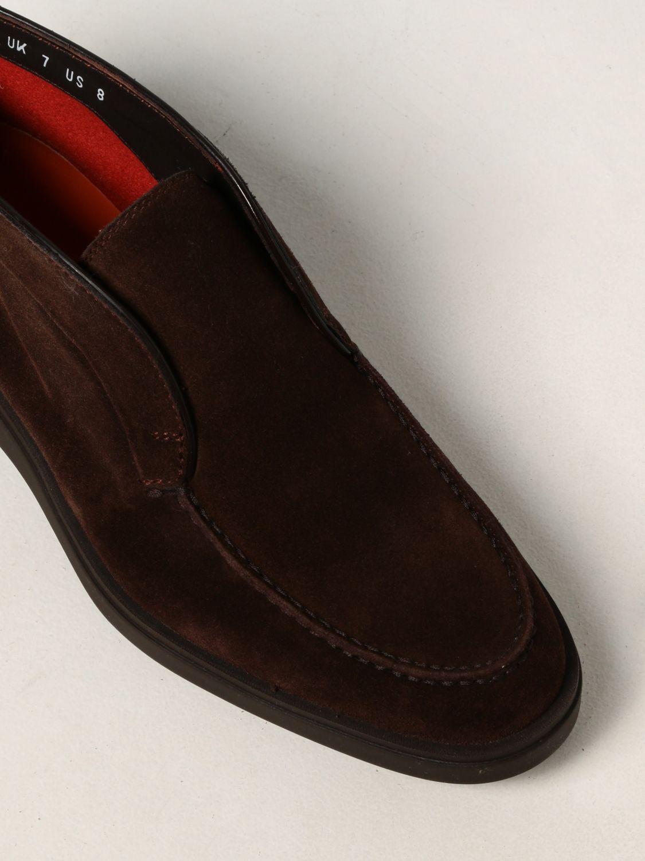 Zapatos Santoni: Zapatos hombre Santoni marrón 4