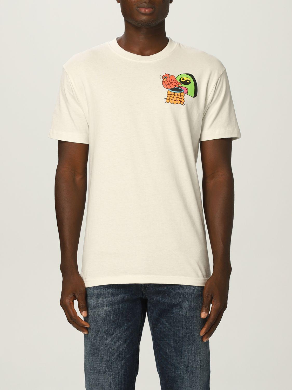T-Shirt Chinatown Market: T-shirt herren Chinatown Market yellow cream 1