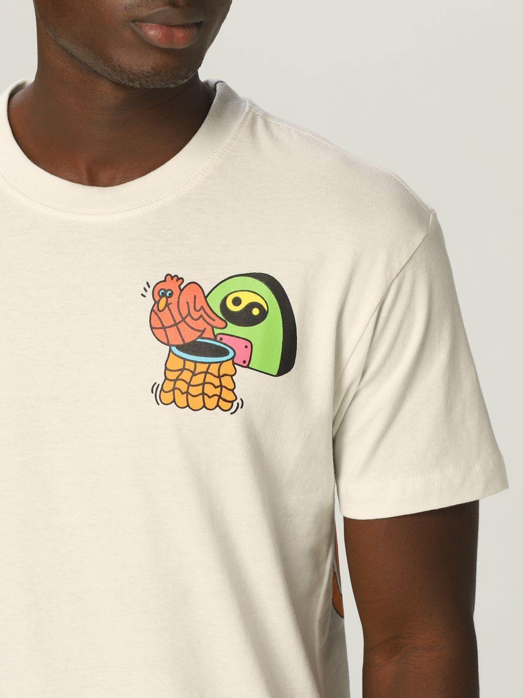 T-Shirt Chinatown Market: T-shirt herren Chinatown Market yellow cream 3