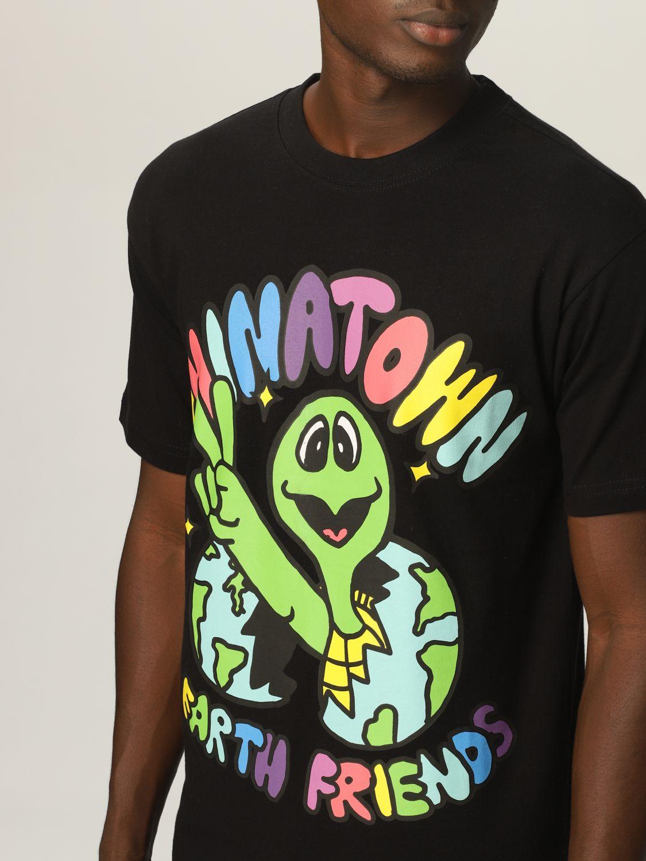 Camiseta Chinatown Market: Camiseta hombre Chinatown Market negro 3