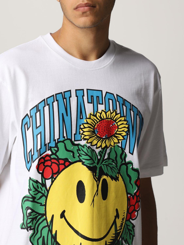 Camiseta Chinatown Market: Camiseta hombre Chinatown Market blanco 3