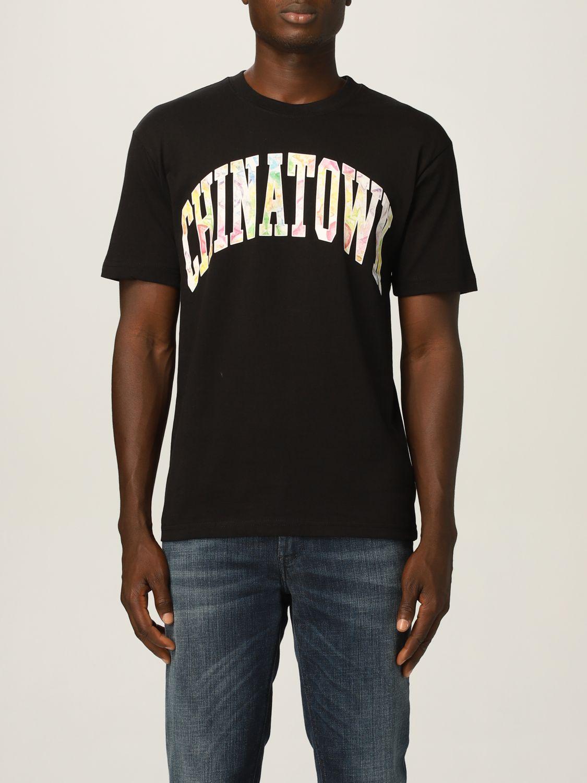 Camiseta Chinatown Market: Camiseta hombre Chinatown Market negro 1