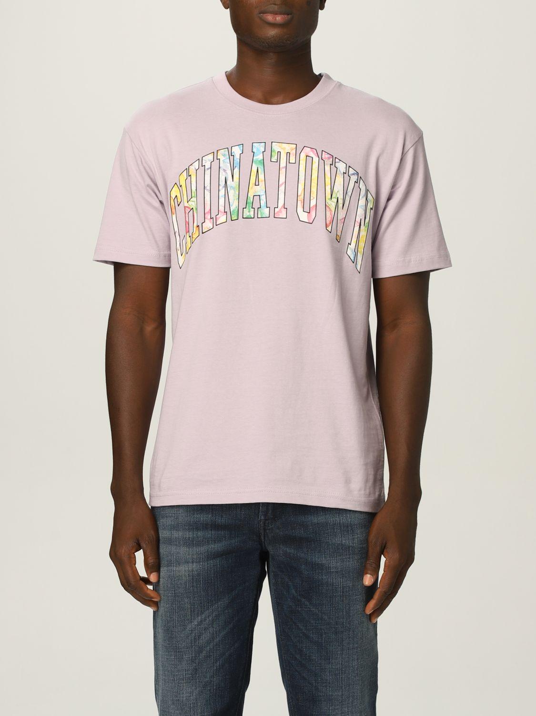 T-Shirt Chinatown Market: T-shirt herren Chinatown Market lila 1