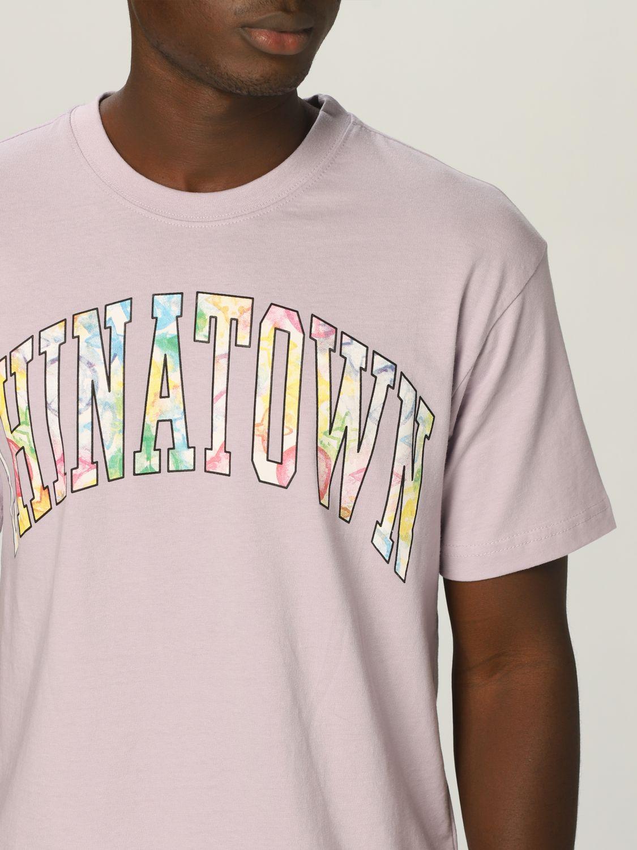 T-Shirt Chinatown Market: T-shirt herren Chinatown Market lila 3