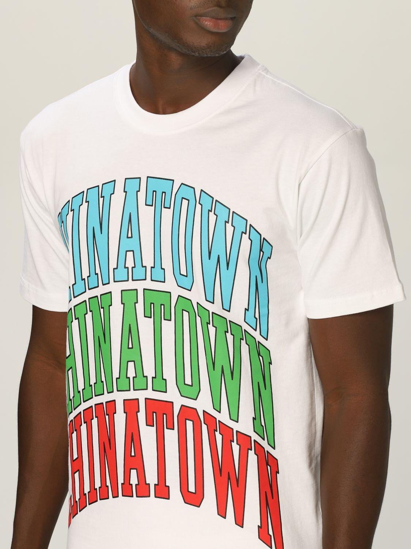 T-Shirt Chinatown Market: T-shirt herren Chinatown Market weiß 3
