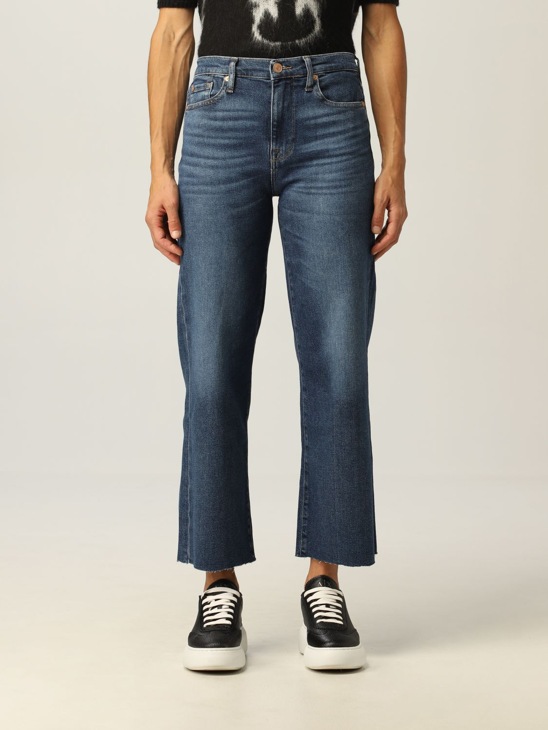 Jeans 7 For All Mankind: Jeans donna 7 For All Mankind denim 1
