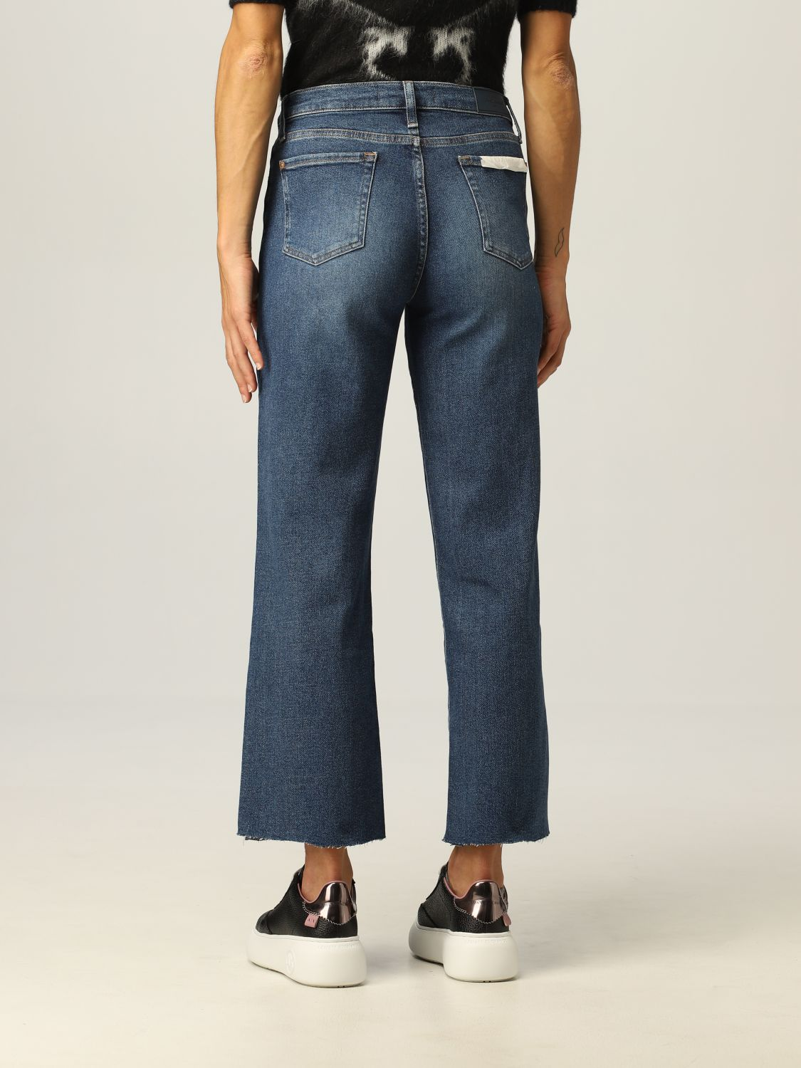 Jeans 7 For All Mankind: Jeans donna 7 For All Mankind denim 2