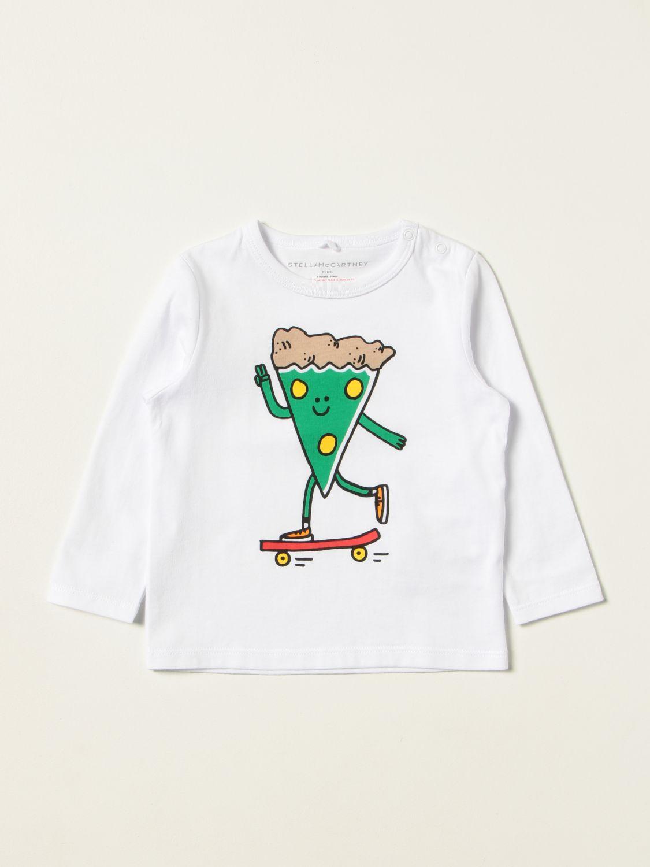 T-shirt Stella Mccartney: T-shirt bambino Stella Mccartney bianco 1