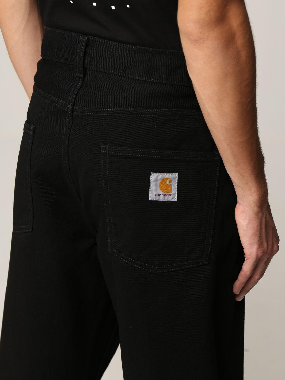 Jeans Carhartt: Jeans hombre Carhartt negro 1 4