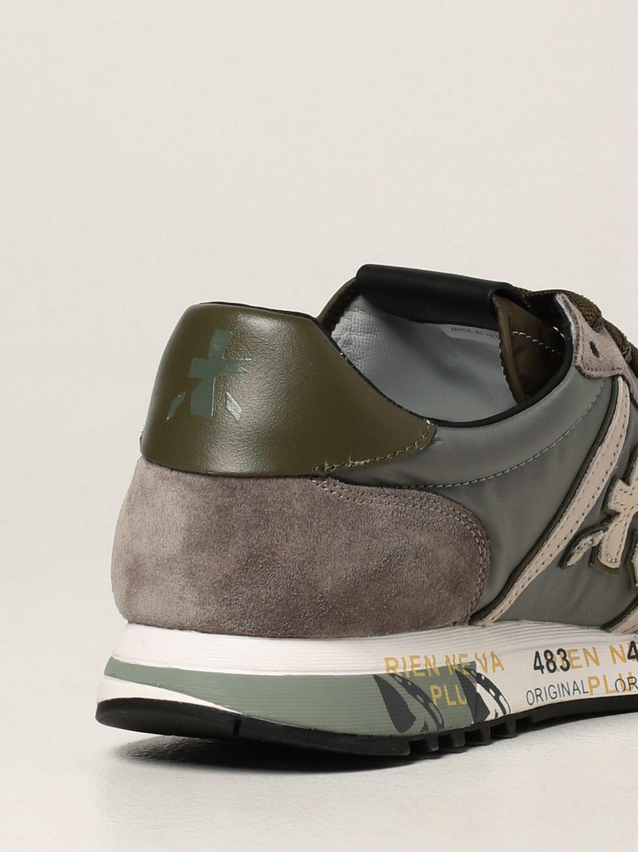 Sneakers Premiata: Sneakers Eric Premiata in nylon e camoscio grigio 3