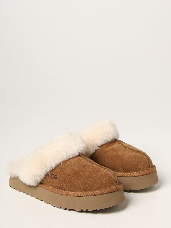 Flat shoes Ugg Australia: Ugg Australia suede sabot brown 2