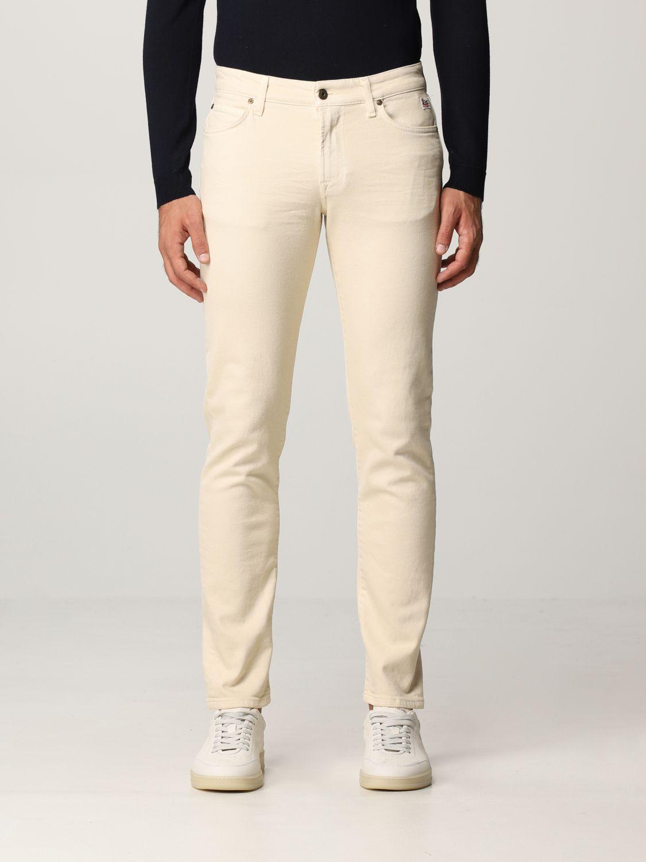 Pantalón Roy Rogers: Pantalón hombre Roy Rogers beige 1