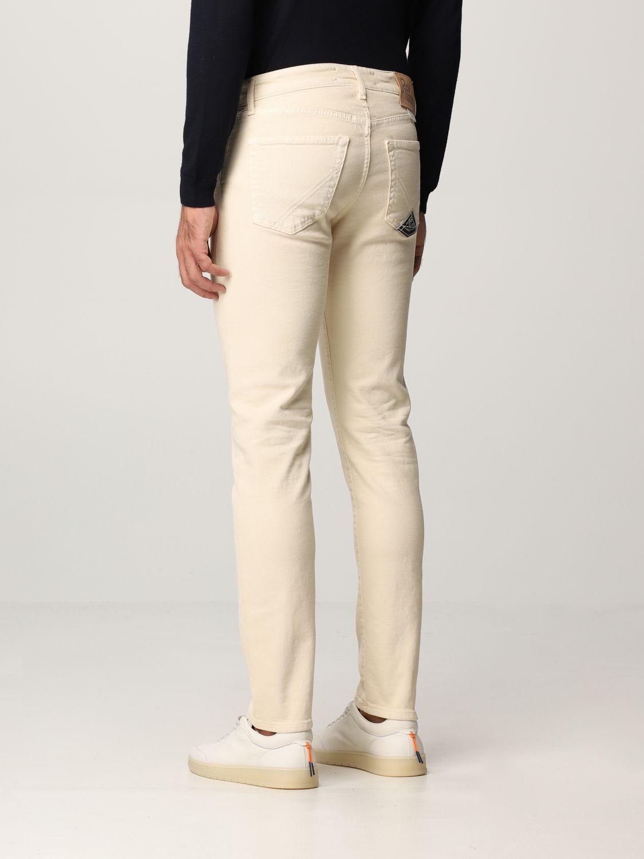 Pantalón Roy Rogers: Pantalón hombre Roy Rogers beige 2