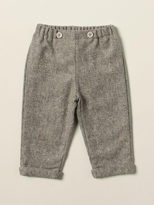 Trousers La Stupenderia: Trousers kids La Stupenderia grey 1