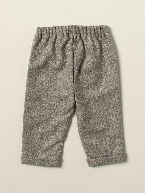Trousers La Stupenderia: Trousers kids La Stupenderia grey 2