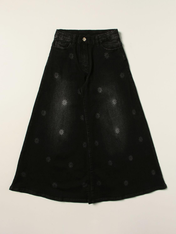 Jeans Monnalisa: Jeans kids Monnalisa black 1