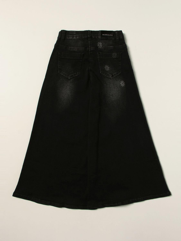 Jeans Monnalisa: Jeans kids Monnalisa black 2