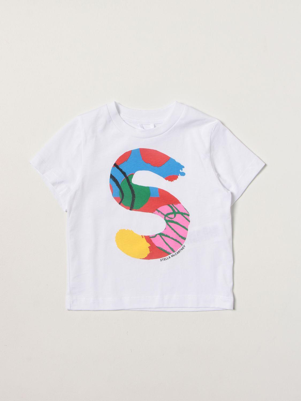T-shirt Stella Mccartney: T-shirt kids Stella Mccartney white 1