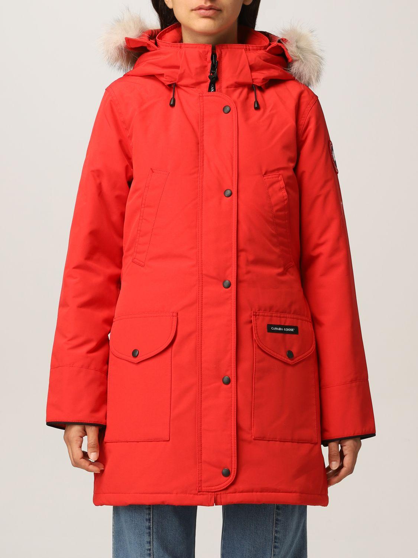 Giacca Canada Goose: Giacca donna Canada Goose rosso 1