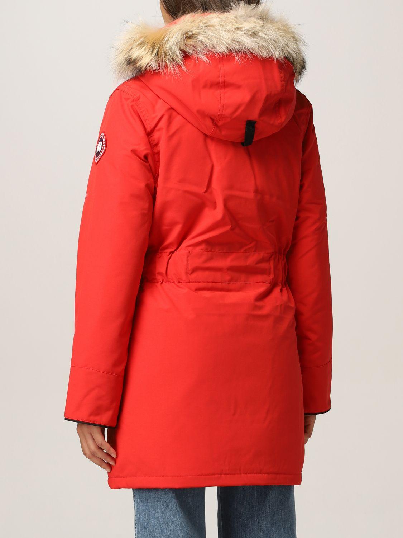 Giacca Canada Goose: Giacca donna Canada Goose rosso 2