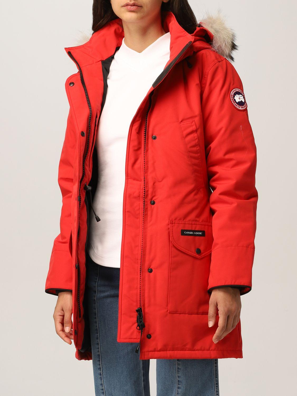 Giacca Canada Goose: Giacca donna Canada Goose rosso 3