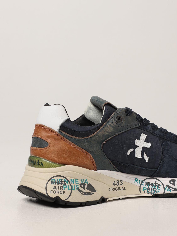 Sneakers Premiata: Sneakers Mase Premiata in pelle e camoscio blue 3
