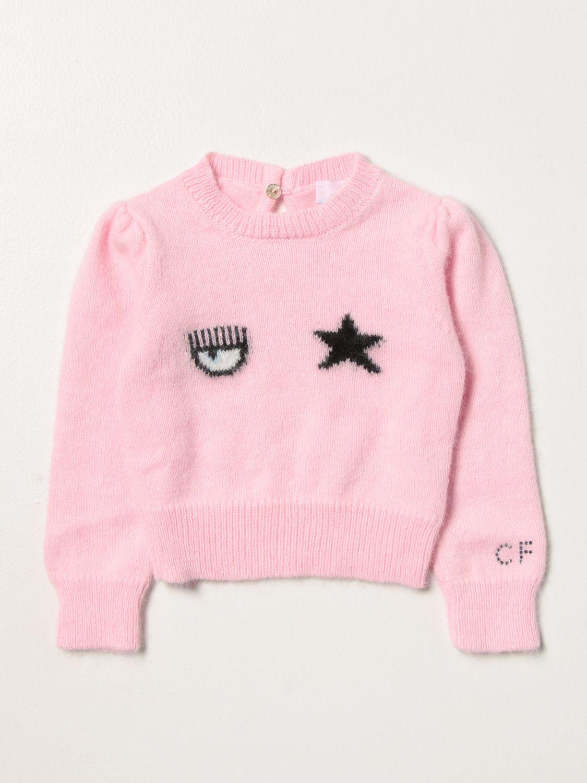 毛衣 Chiara Ferragni: 毛衣 儿童 Chiara Ferragni 粉色 1