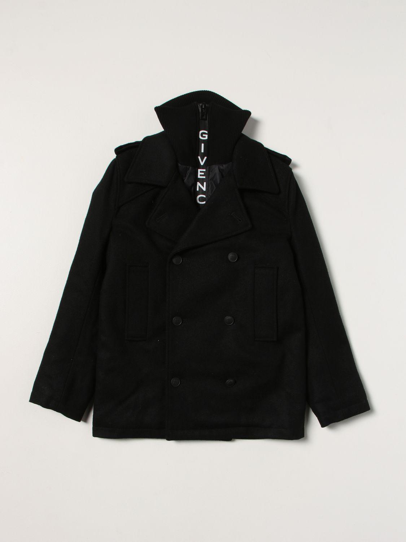 Куртка Givenchy: Куртка Детское Givenchy черный 1