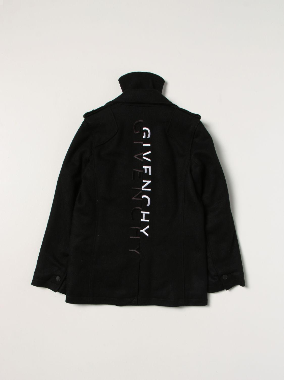 Куртка Givenchy: Куртка Детское Givenchy черный 2