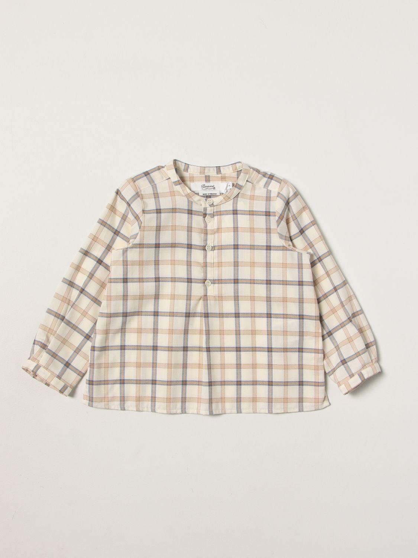 Shirt Bonpoint: Shirt kids Bonpoint ecru 1