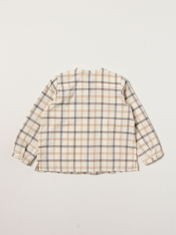 Shirt Bonpoint: Shirt kids Bonpoint ecru 2