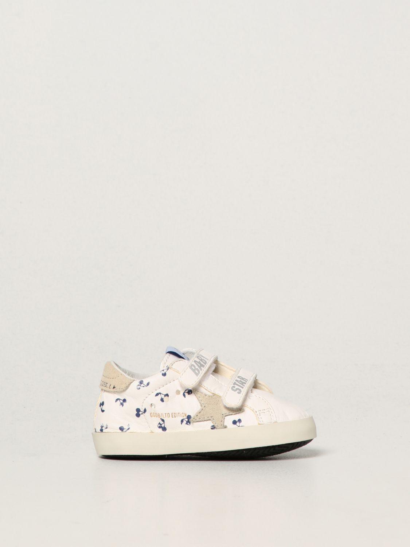 Scarpe Bonpoint: Sneakers Bonpoint x Golden Goose in nappa bianco 1