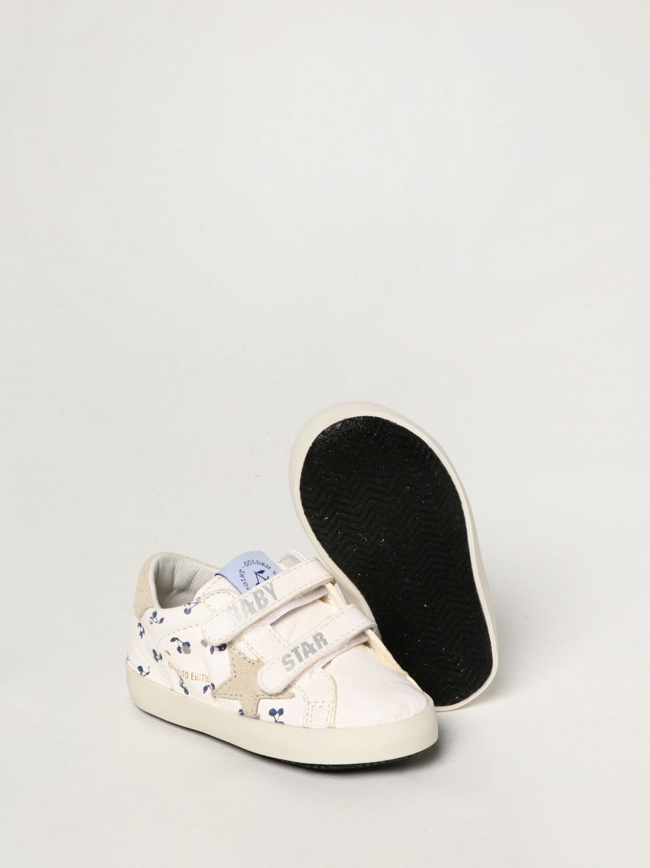 Scarpe Bonpoint: Sneakers Bonpoint x Golden Goose in nappa bianco 2