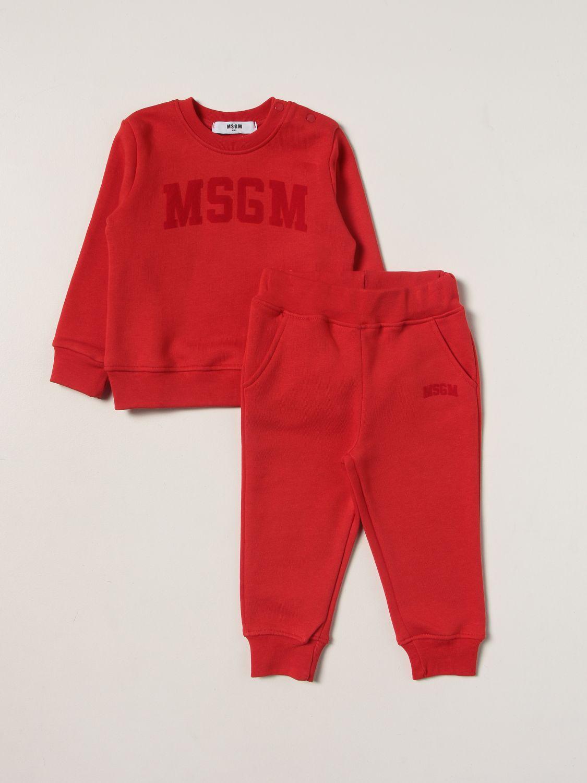 Jumpsuit Msgm Kids: Clothing set kids Msgm Kids red 1