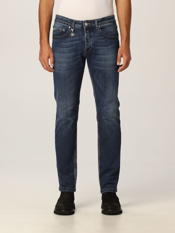Jeans Manuel Ritz: Jeans hombre Manuel Ritz azul oscuro 1