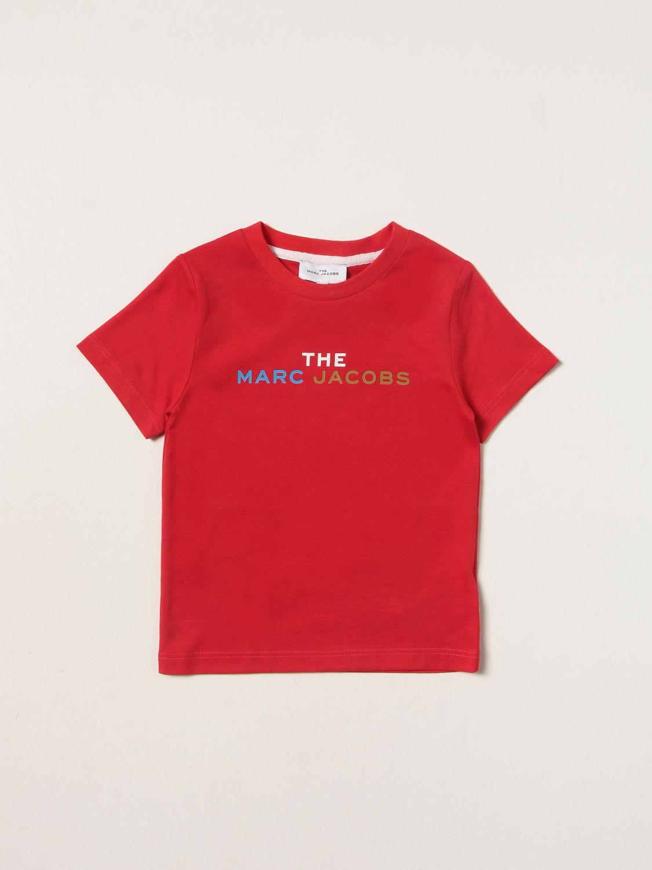 T-shirt Little Marc Jacobs: T-shirt enfant Little Marc Jacobs rouge 1