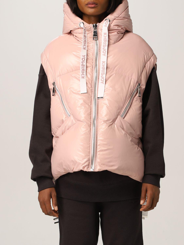 Jacket Khrisjoy: Jacket women Khrisjoy pink 1