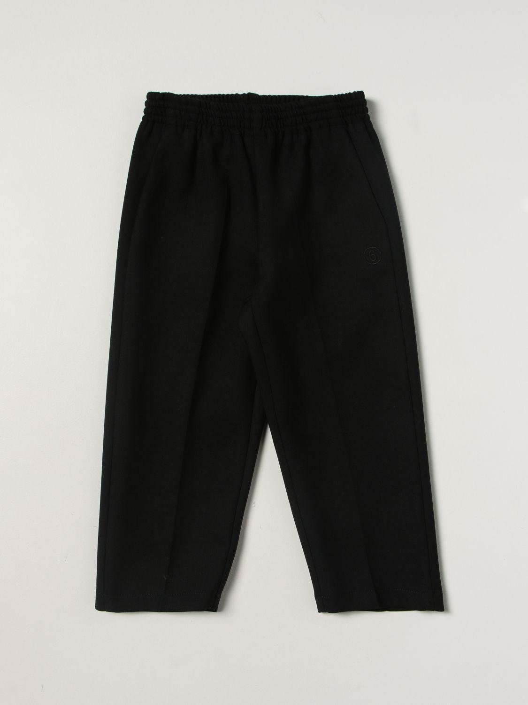裤子 Mm6 Maison Margiela: 裤子 儿童 Mm6 Maison Margiela 黑色 1