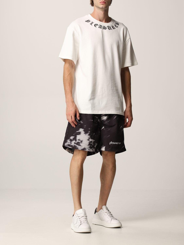 T-Shirt Pleasures: T-shirt herren Pleasures weiß 2