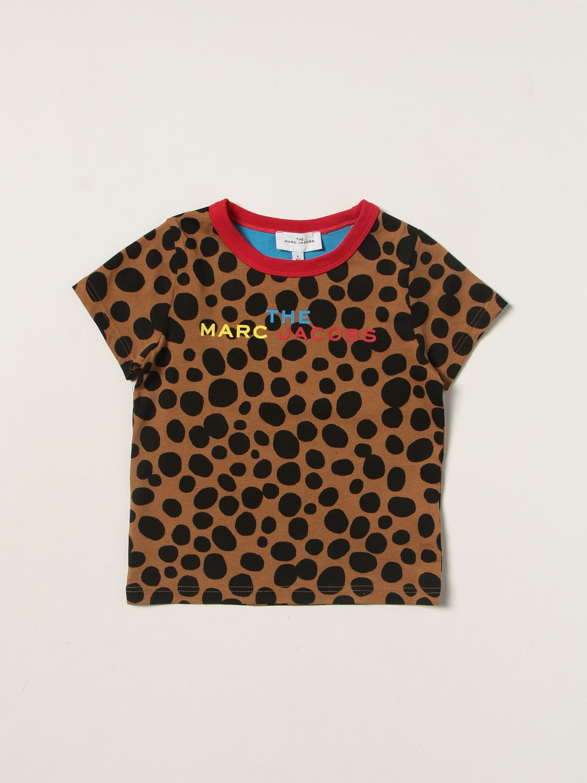 T-shirt Little Marc Jacobs: T-shirt enfant Little Marc Jacobs marron 1