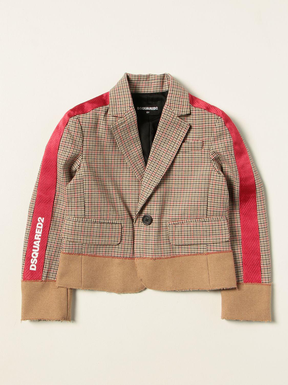 Куртка Dsquared2 Junior: Куртка Детское Dsquared2 Junior многоцветный 1